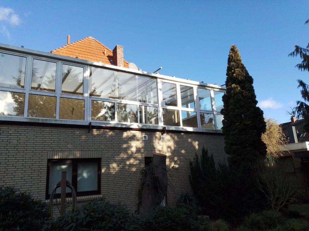 Außenansicht Wintergarten