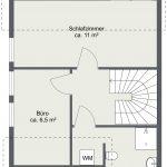 Haus 4B – Obergeschoss