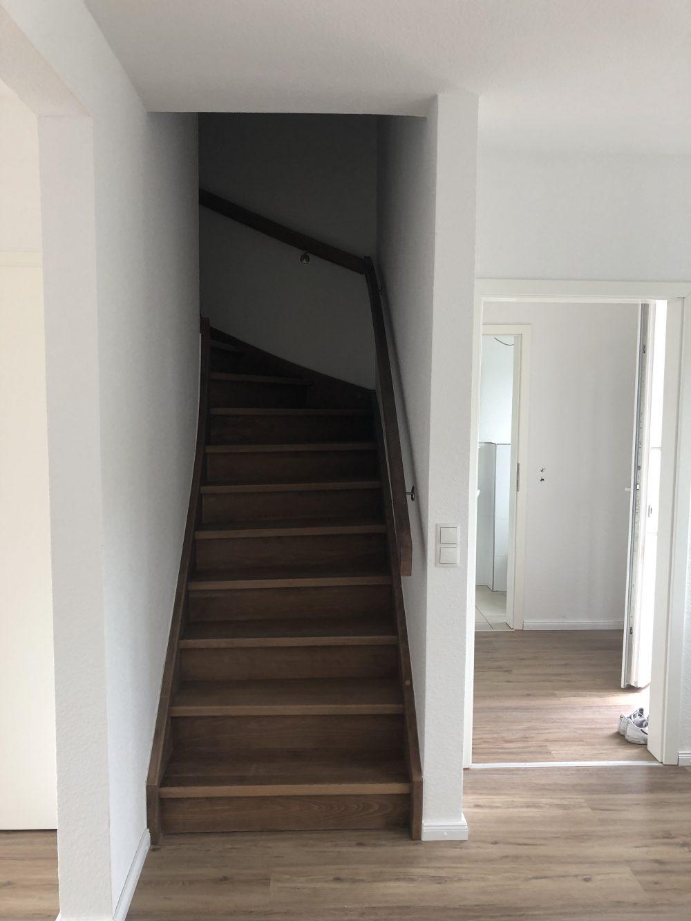 Beispielbild Treppenaufgang